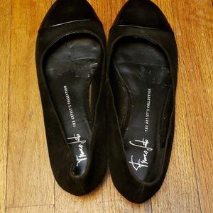 Franco Sarto A Fashion Leather Shoe Size 9M